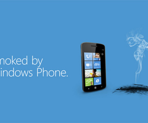 Smoked by Windows Phone