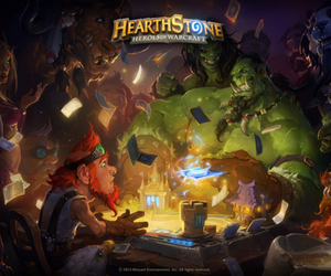 WarCraft Hearthstone stock press art