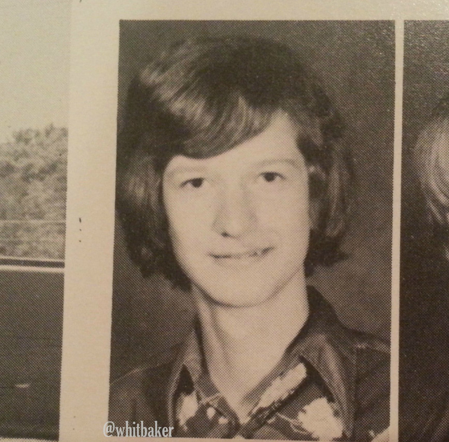 tim cook yearbook photo