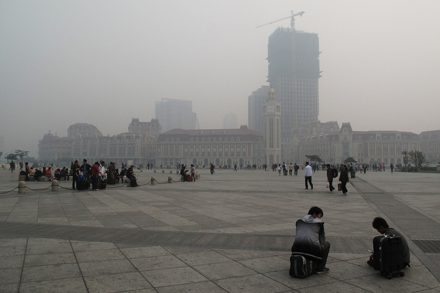 China's air pollution led to