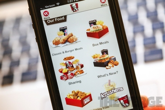 KFC launches Fast Track mobile