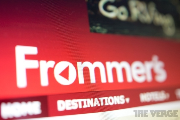Frommer's guidebooks to live