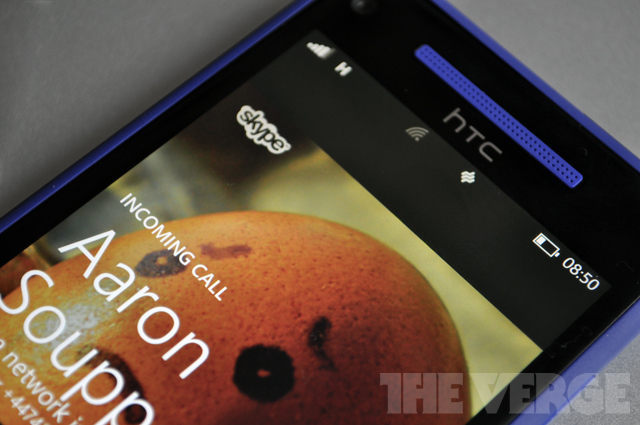Skype Windows Phone 8 stock