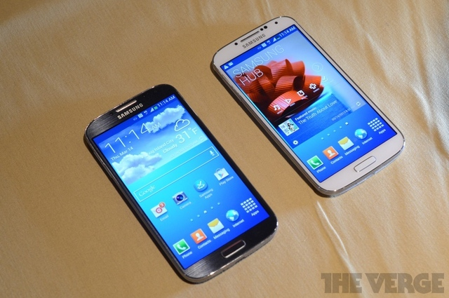 Samsung Galaxy S4 colors