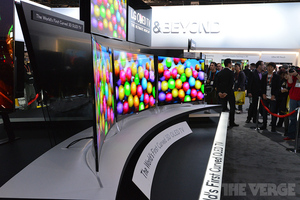 LG OLED Curved