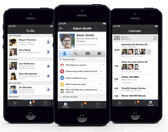 linkedin u0026 39 s new contacts app aims to replace your phone u0026 39 s address book
