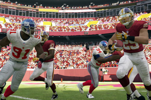 Madden 13 Wii U Giants Redskins