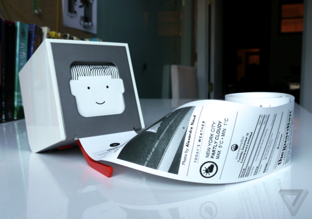 Gallery Photo: Little Printer photos