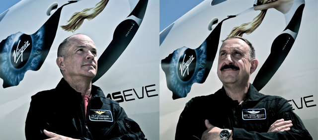 Virgin Galactic pilots