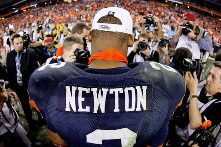 Cecil Newton Pretty Much Gave The NCAA and Auburn The Finger Monday Night
