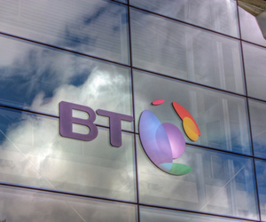 BT Logo Stock