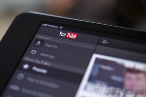 iPad YouTube