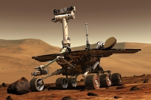 NASA Opportunity mars rover (Credit: NASA/JPL-Caltech)