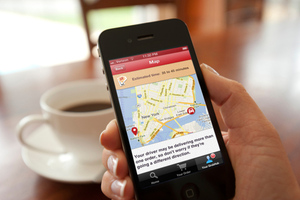 GrubHub Track your grub PRESS