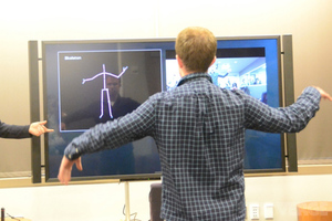Gallery Photo: Xbox One Kinect hands on photos