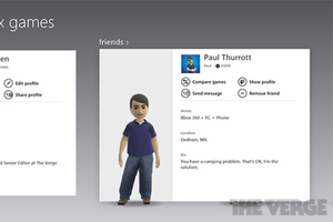 Xbox Live messages Windows 8