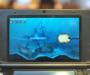 nintendo 3ds xl steel diver