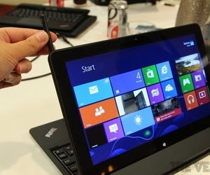 Gallery Photo: Lenovo ThinkPad Helix hands-on pictures