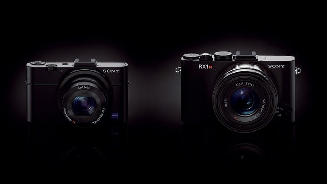 Sony RX100M2 and RX1R