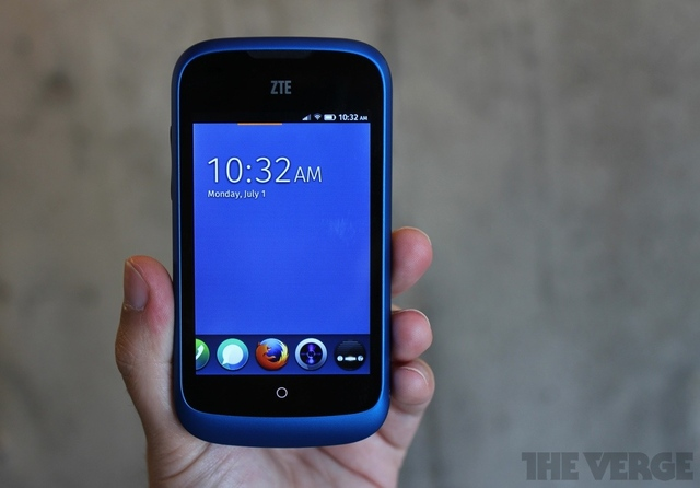 Gallery Photo: ZTE Open with Firefox OS hands-on pictures