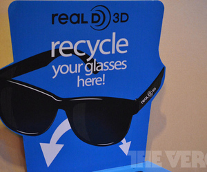 RealD 3D glasses recycle box (1020)