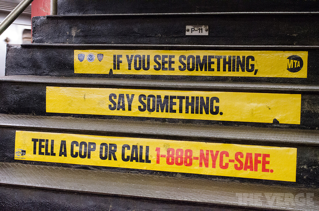If You See Something, Say Something MTA (STOCK)