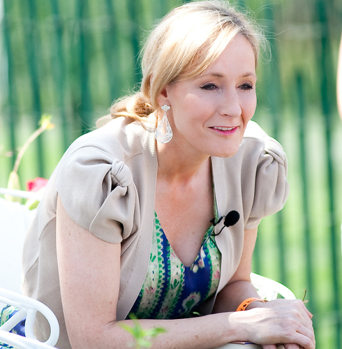 J.K. Rowling (Flickr)