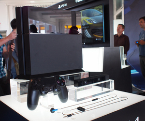 PS4 hands-on Sony event NYC