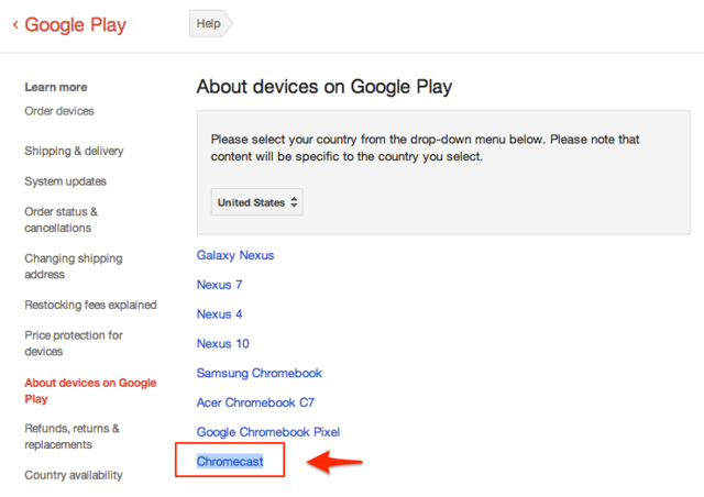 Chromecast' device on Google support page hints at streaming TV ...