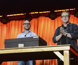 Brad Bird and Damon Lindelof at D23 2013