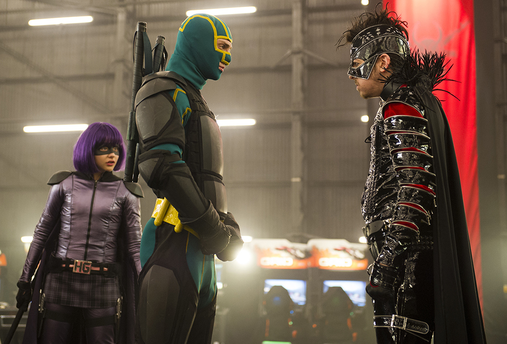 Kick-Ass 2 publicity stills