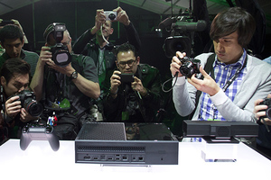 Xbox One reveal (MS stock)