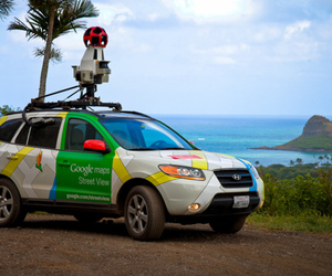 (GOOGLE PRESS) Street View Car Maps Hawaii