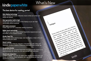 Kindle Paperwhite 2nd gen