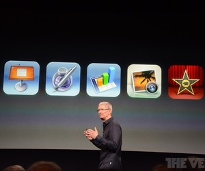 Apple says iWork will come free with all new iOS devices