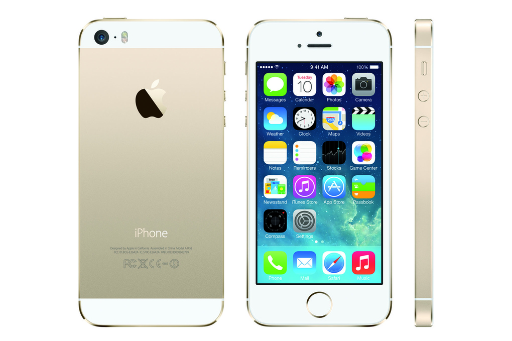 this is the gold iphone 5s the verge. Black Bedroom Furniture Sets. Home Design Ideas