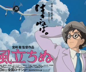 kaze tachinu the wind rises poster