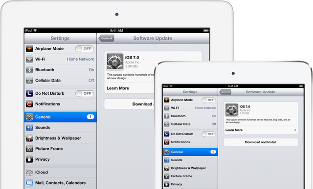 how to download ipad software if no update