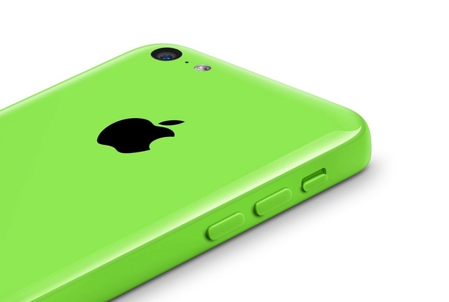 iphone 5c green press