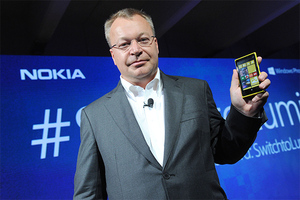 Stephen Elop Nokia CEO stock
