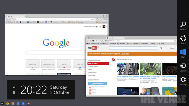 Google is building Chrome OS straight into Windows 8