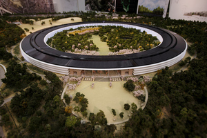 Apple Spaceship campus credit Mercury News