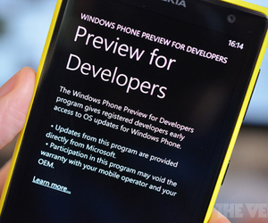 Windows Phone preview
