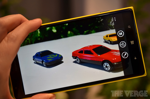 Gallery Photo: Nokia Refocus hands-on photos