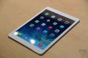 iPad Air hands-on picture