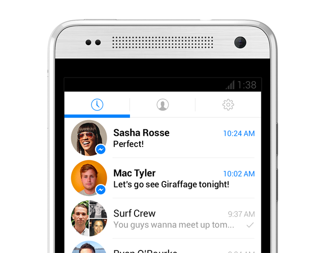 new facebook messenger