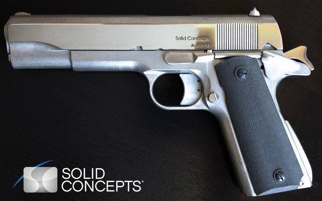 Empresa fabrica primeira pistola de metal em impressora 3D