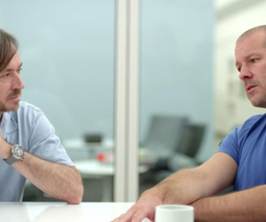Jony Ive and Marc Newson (SOTHEBY'S YOUTUBE CLIP)