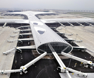 Gallery Photo: Shenzhen Terminal 3, designed by Studio Fuksas