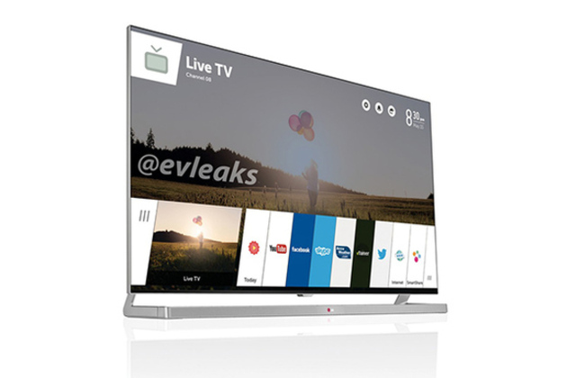 LG's webOS TV revealed in